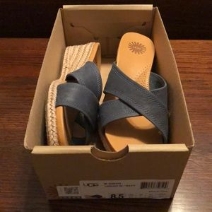 NIB Authentic Ugg Wedges